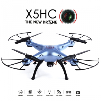 [X5HC] 2.4G 6 Axis Gyro 4CH RC Quadcopter with HD Camera