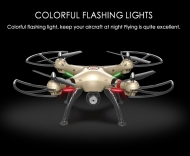 [X8HC] 2.4G 6 Axis Gyro 4CH RC Quadcopter with HD Camera