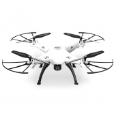 [SYMA X5HW White] Deutsche Version - FPV 2.4G 6 Axis Gyro 4CH RC Quadrocopter Drohne mit WIFI Kamera (REAL-TIME Live Übertragung)