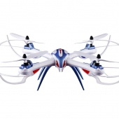 [X6-1] 2.4G 6 Axis Gyro 4CH RC Quadcopter with HD Camera (2 MP HD FPV Wifi Camera)