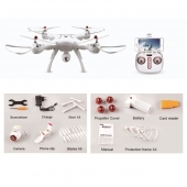 [X8SW]   2.4G 4CH RC Quadcopter with WIFI Camera (720P)